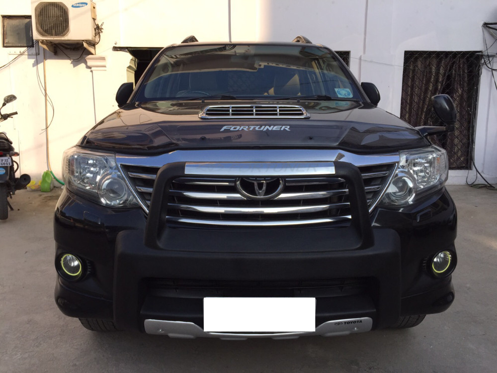 Black Toyota Fortuner In Lucknow Ssk Car Sales Ssk Car Sales